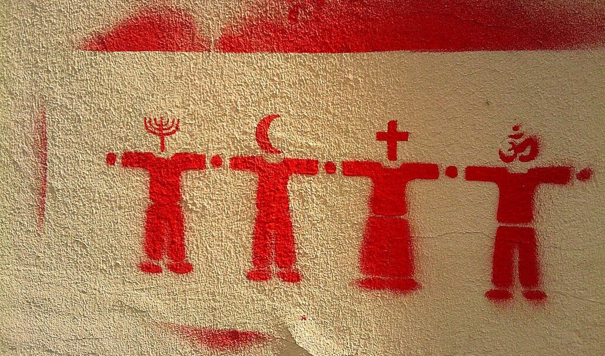 Religions. Photo Matthew Fearnley/Flickr