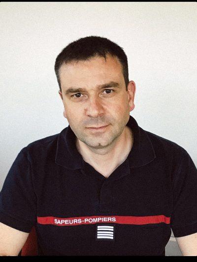 Stéphane Contal, directeur départemental adjoint Sdis 95