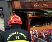 Incendie Cuba Libre Rouen - Photo Sdis 76