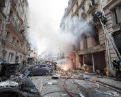 Paris : explosion de gaz rue de Trévise, un cas loin d'être isolé en France (photo M. Lefevre Brigade des sapeurs pompiers de Paris)