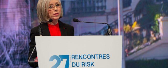 Brigitte Bouquot : l'entreprise ne doit pas devenir la somnambule de sa performance aux 27e rencontres de l'AMRAE Deauville (crédits AMRAE/artephoto)