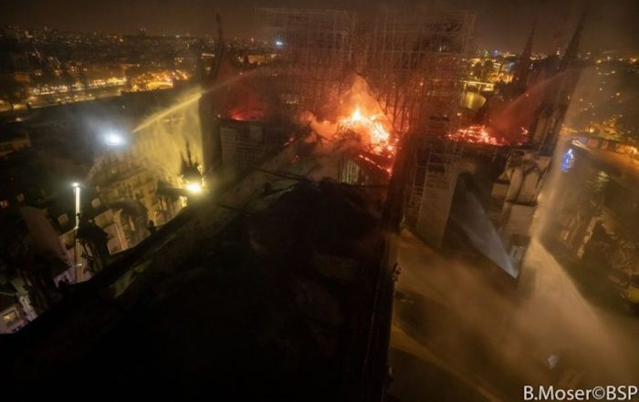 Feux de chantiers risque maximum credit photo B Moser BSPP