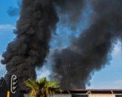 Incendie dans deux centres de traitement des déchets (photo d'illustration Wikimedia)