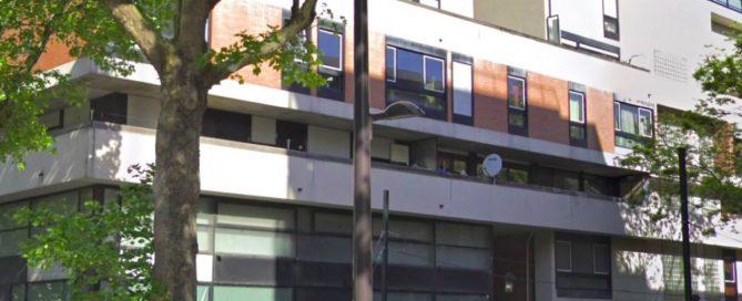 Le geste qui a sauvé des vies lors de l'incendie boulevard Macdonald (Capture Google image)