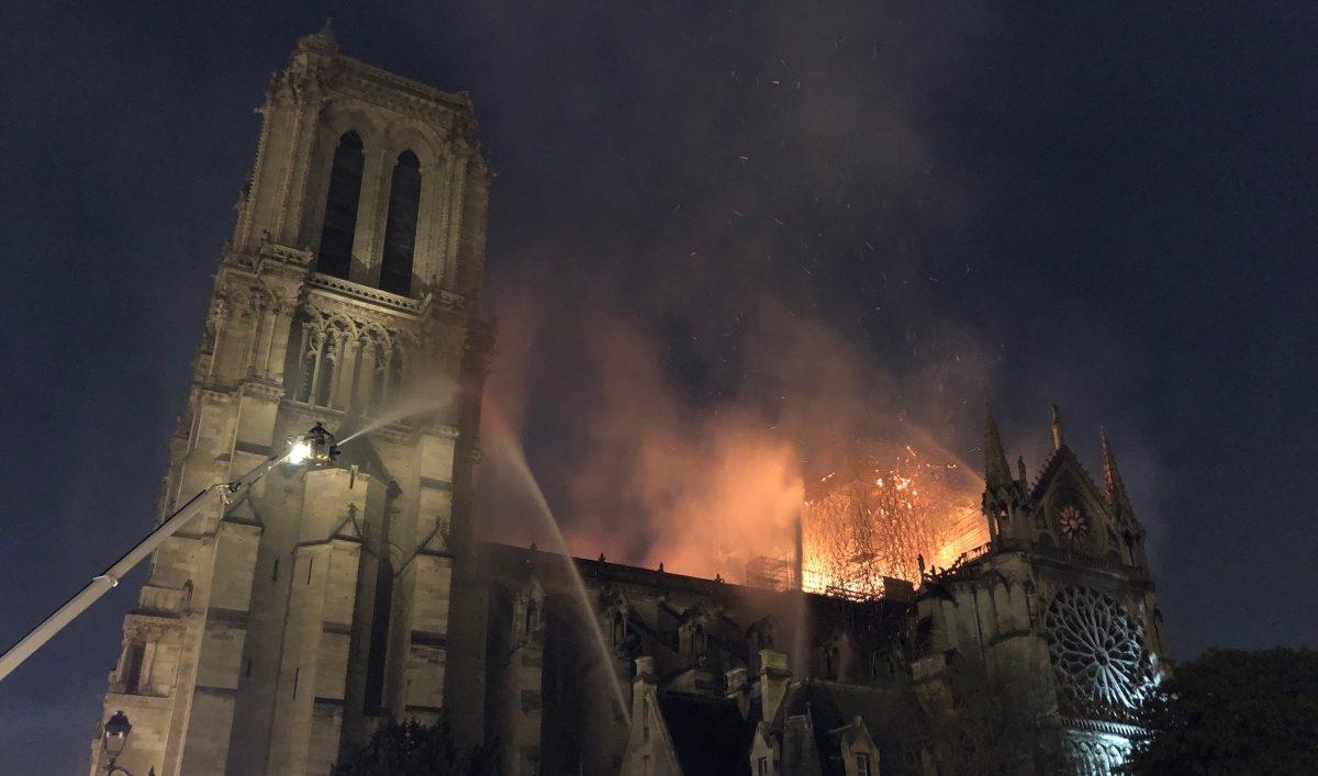 Incendie Notre-Dame (DR).