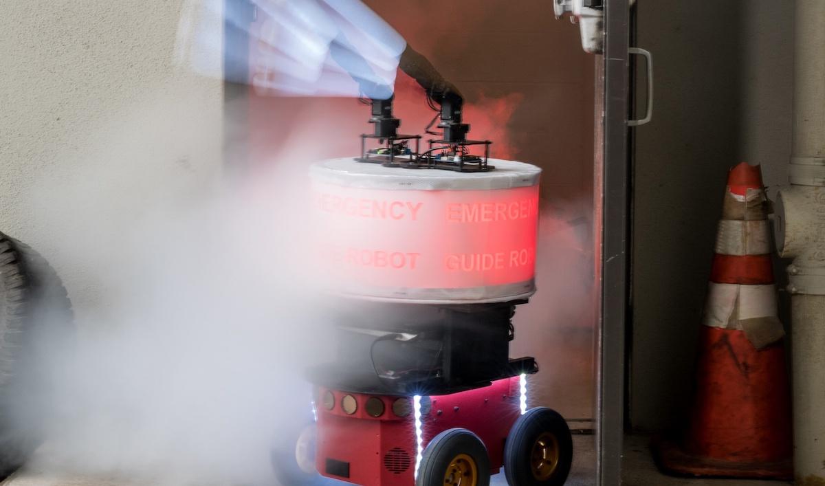 Evacuation incendie les humains bien trop confiants dans les robots Photo Rob Felt:Georgia Tech