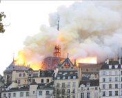 Incendie Notre-Dame de Paris (Cecile Pallares Brzezinski_Wikimedia_Commons)