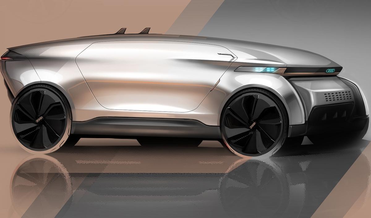 Le grand bluff du vehicule autonome Audi e-tron Imperator by Frédéric LE SCIELLOUR is licensed under CC BY-NC-ND 4.0