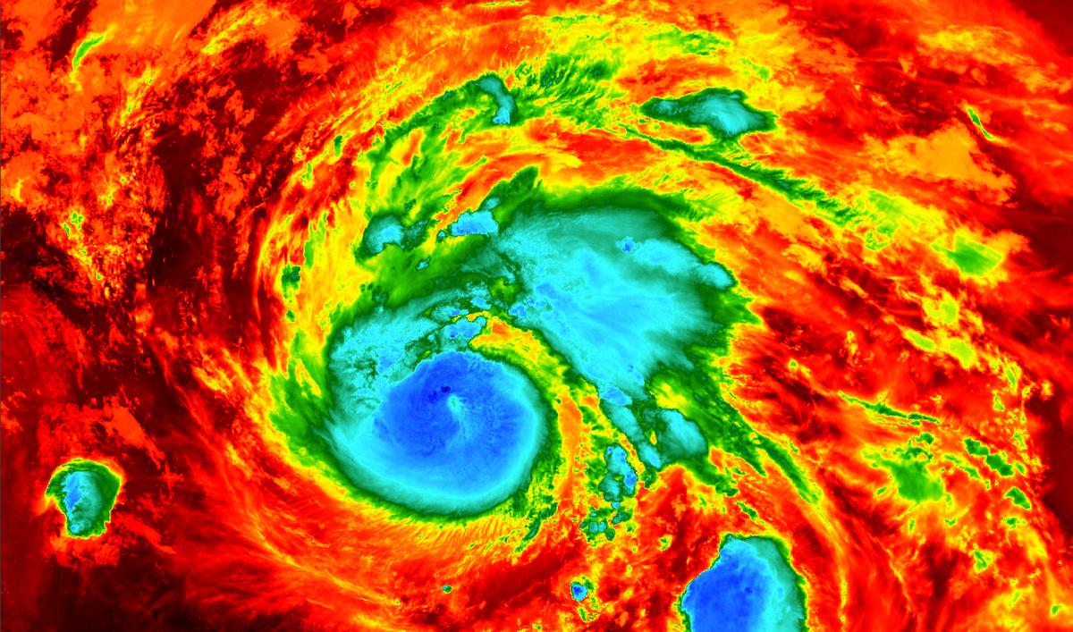 8 conseils pour se préparer à la saison des ouragans Credits European Space Agency