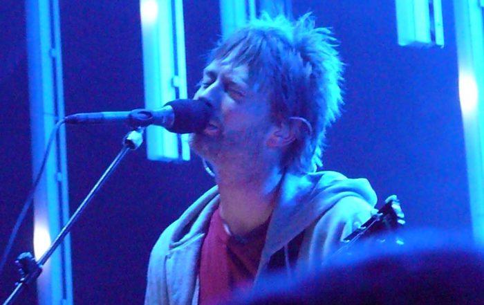 Thom Yorke le leader de Radiohead photo Angela n. via Flickr licence CC