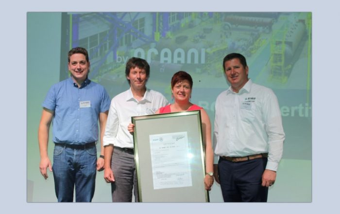 Certification Bosec pour le détecteur SmockeCatcheur d'Araani (Photo Araani)
