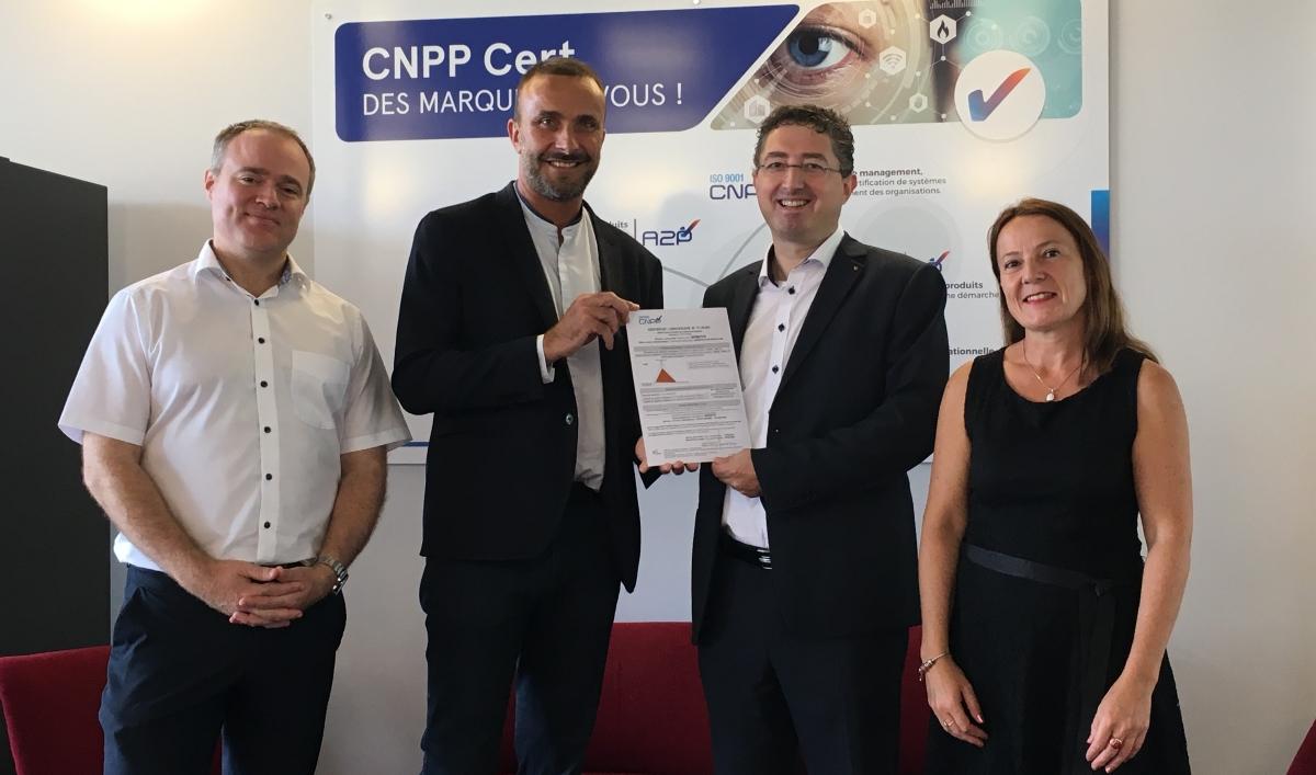 Les caméras de vidéosurveillance de Mobotix obtiennent le certificat CNPP Certified. Photo CNPP