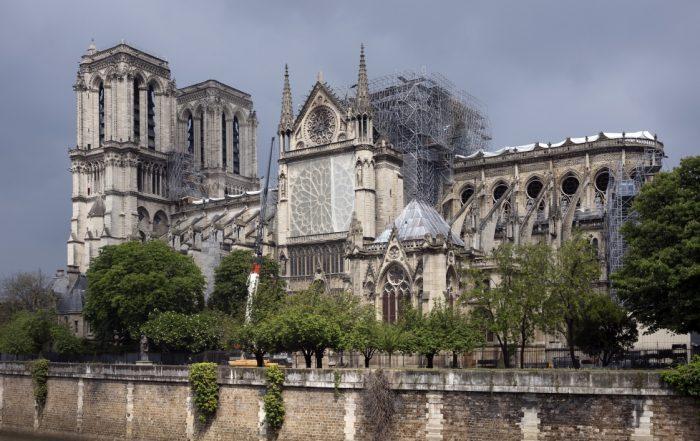 Travaux Notre-Dame de Paris. Photo Christopher Michel/Flickr/CC