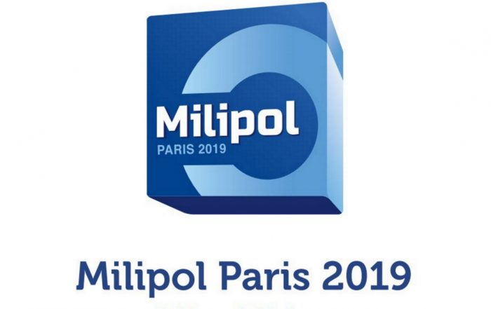 Logo Milipol 2019.