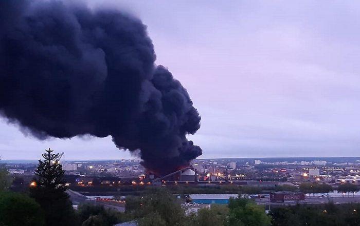 Incendie Lubrizol chiffres. (Photo Décidons Rouen Flickr_CC).