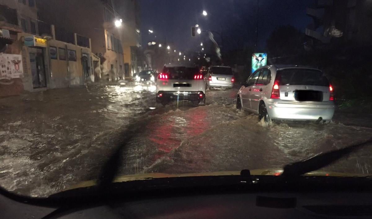 Inondations sud-est de la France. (Photo d'illustration Arya Stark, @julietrucmuche Twitter).