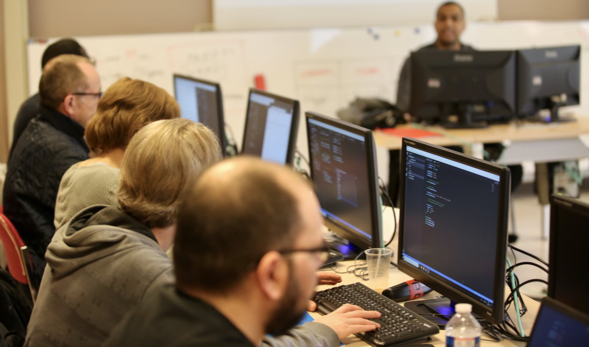 La place du numérique dans la formation. (Photo d'illustration © Nicolas DUPREY CD 78 - département des Yvelines flickr_cc).