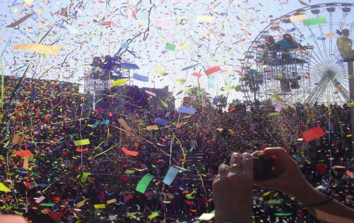 Reconnaissance faciale au Carnaval de Nice. (Photo d'illustration plimtuna_flickr_cc).