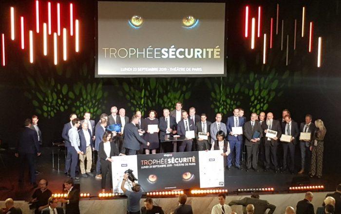 Trophées de la Sécurité 2019. (Photo MDCParis compte Twitter).