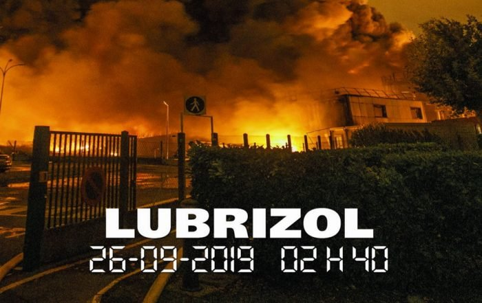 Couverture Face au Risque 557 Incendie de Lubrizol novembre 2019.