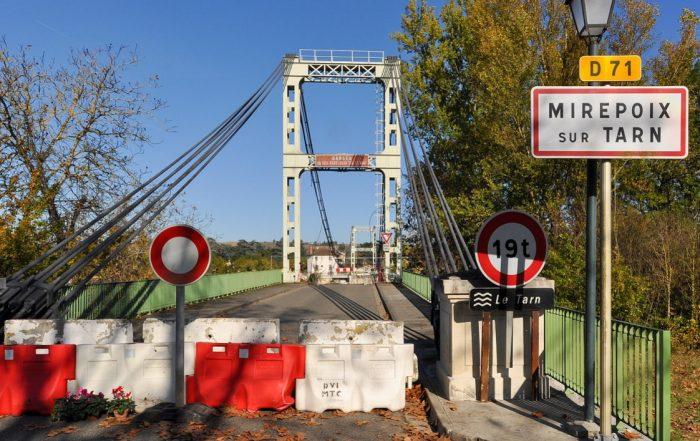 Pont de Mirepoix. (photo Don-vip wikimedia cc commons).