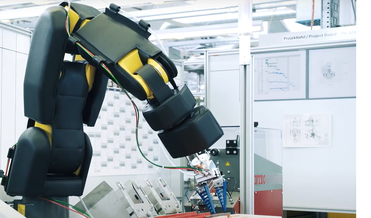 Robot collaboratif Rexroth