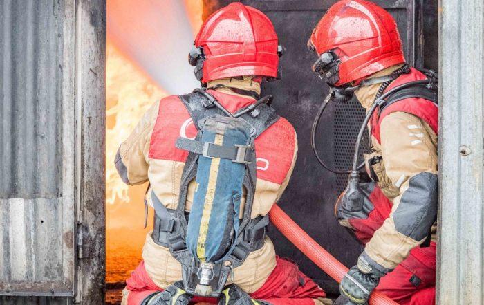 Pompier - Décontamination - EPI - Incendie - Santé - Crédit photo CNPP