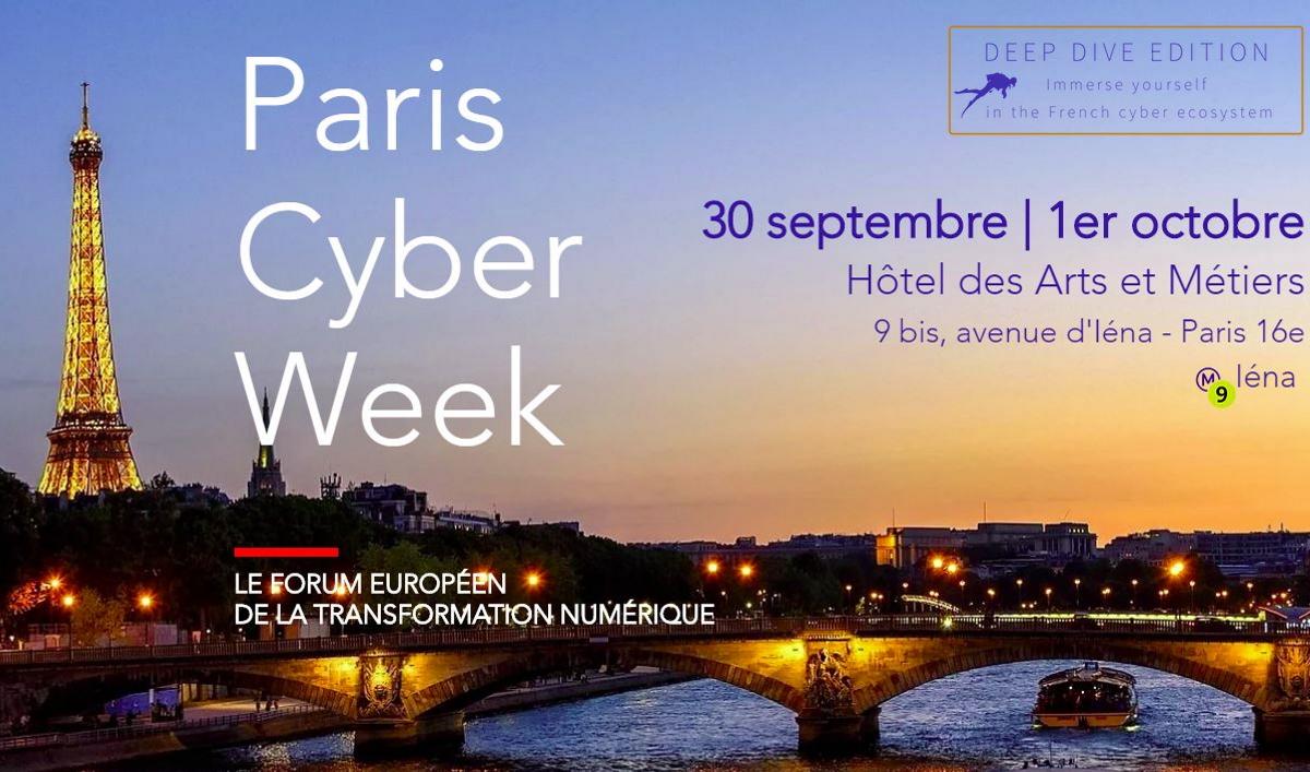Paris Cyber Week 2020 (capture site officiel).
